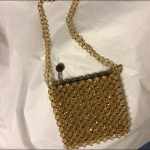 Handbags - Fun vintage beaded bag for special or everyday.